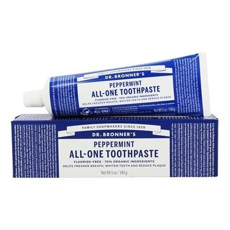 Pasta de Dientes all one Toothpaste 70% organico sabor Anis