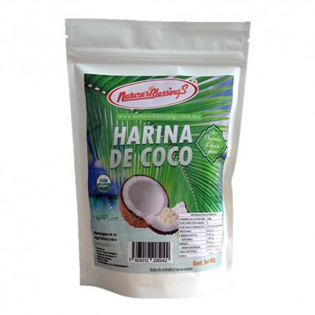 Harina de Coco Organica 450g