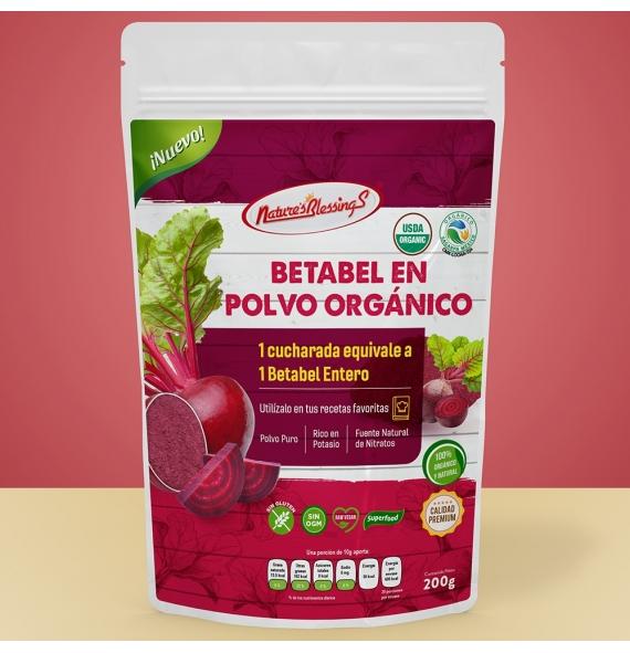 Betabel en Polvo Orgánico 200g