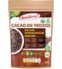 cacao en trozos certificados organicos