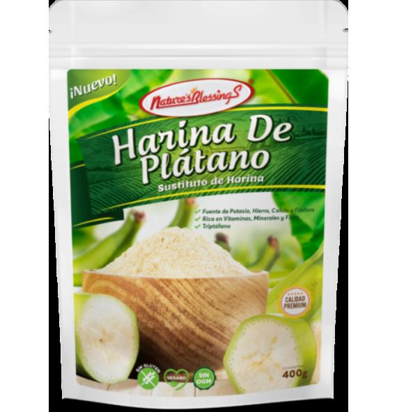 Harina de Plátano Sin...
