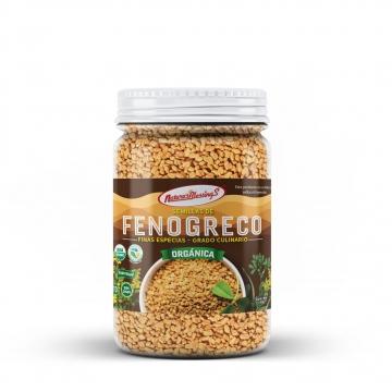 Fenogreco en semilla...