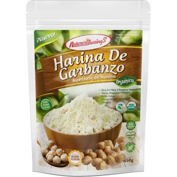 Harina de Garbanzo organico...