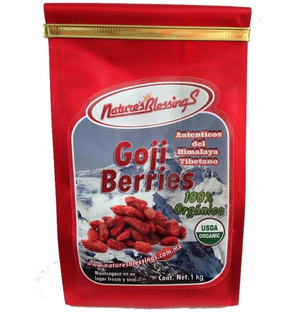 Goji Berries Organico 1Kg del Himalaya